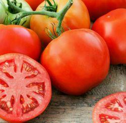 گوجه را با شکم خالی نخورید❗️  گوجه حاوی مقادیر زیاد پکتین وتانیک اسیدست که وقتی با اسیدمعده واکنش میدهد، ژلی غیرقابل حل تشکیل میدهد که براحتی سبب تولید سنگ کلیه میشود!