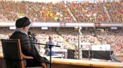 تنها جایی که تونستن ۱۰۰ هزار بسیجی و اخوند رو جا بدن تا براشون از دستاوردهای انقلاب و قدرت جمهوری اسلامی صحبت کنن، استادیوم آزادی بود که زمان شاه ساخته شد^_^  #کسخل