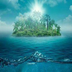 درمقابل سختیها  همچون جزیره اى باش که  دریا هم با تمام عظمت وقدرت  نمى تواند سر او را زیر آب کند.