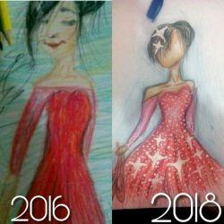 می گم بچه ها  اولا نقاشی هایم بد بود اما الان یکمی خوب شده نظر شما چیست