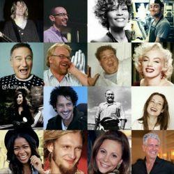 گول نخورید افسردگی اینگونه است..تمام این افراد مشهور خودکشی کردن
