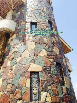 اجراع بنای نمای ساختمان سنگ لاشه 09193394461----09124867802 نما کاری ppouuسنگ لاشه -ورقه ای با قیمت هزینه کم از طریق ایمو