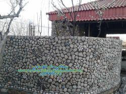 نماشی اجرا قلوه دیوار به طرح دار  سنگ کاری و پیمانکاری سنگ نادری-09193394461---09124867802-اجرا و انواع اقسام سنگ.لاشه چینی دیوار