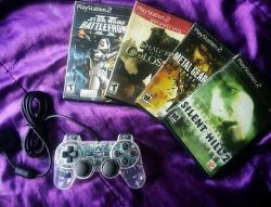 ❤ #ps2 #silenthill #metalgearsolid #shadowofthecolossus #battlefront #videogames