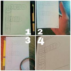 طراحی حرف F برای اسم فاطمه و.. نظرتون کدوم عکسه؟