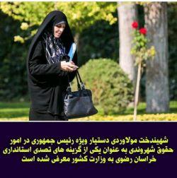 فکرشو بکنید این #مولاوردی طرفدار هرزگی زنان استاندار خراسان رضوی بشه...