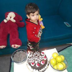 جشن تولد دوسالگی خواهرزادم یزدان