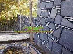 لاشه-چینی-سنگ.مشکی-اجرا و نصب با بندکشی-09124867802_پیمانکاری سنگ نادری ب مصالح.به کانال  https://t.me/sangelashemaloninaderi