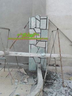 لاشه فرش کف سنگ کوهی باقیمت مناسب 09124867802 اجرای محوطه سازی ب شکل تیشه_ ای _گروع سنگ کاری و ب مصالح در تمام نقاط کشور