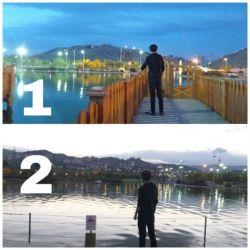 1 یا 2 ؟؟؟ .. دریاچه مصنوعی پارک کوهسنگی