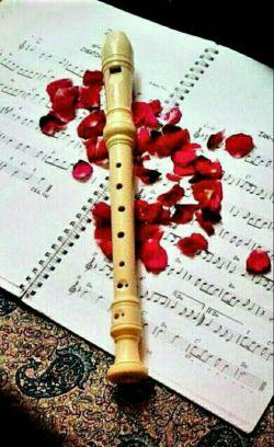 زندگی یک فلوت توخالیست...امااگرراه ورسم درست آن رابیاموزی برایت آهنگ های دلنوازی می نوازد....