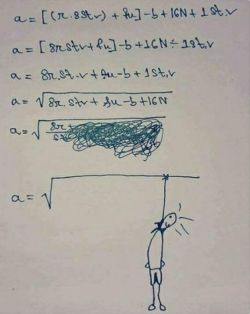 هیچ وقت با ریاضی میونه ی خوبی نداشتم