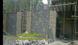 نصب-کاری سنگ لاشه_بادبر-نماء-دیوار:و ویلا_و ستون