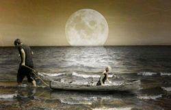 دل بستن  مثل پرت کردن سنگی تو دریاست؛  دل کندن  مثل پیدا کردن همون سنگه!