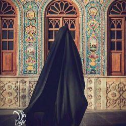 رخت ِ زیبای آسمانی را… خواهرم با غرور بر سر کن… نه خجالت بکش نه غمگین باش… چادرت ارزش است، باور کن❤
