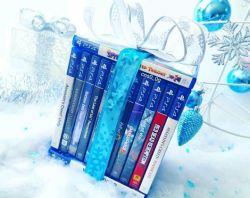 اگه رسم کادو شب یلدا دارید از اینا کادو بدید. اگه هم ندارید بذارید کریسمس بازم از اینا کادو بدید ... خیلی خوبه :)  #sony #ps4 #gamescollection #playstation4  #godofwar #uncharted4   #thelastofus