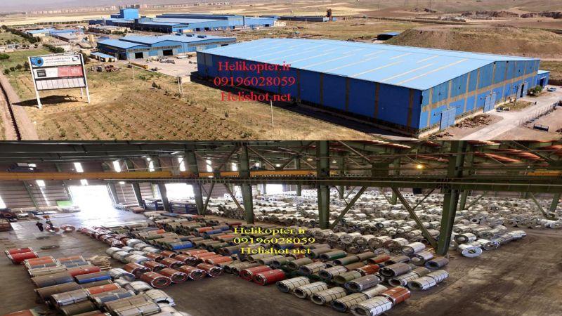 هلیشات-ساخت تیزر شرکت هفت الماس در جاده کرج قزوین  helikopter.ir