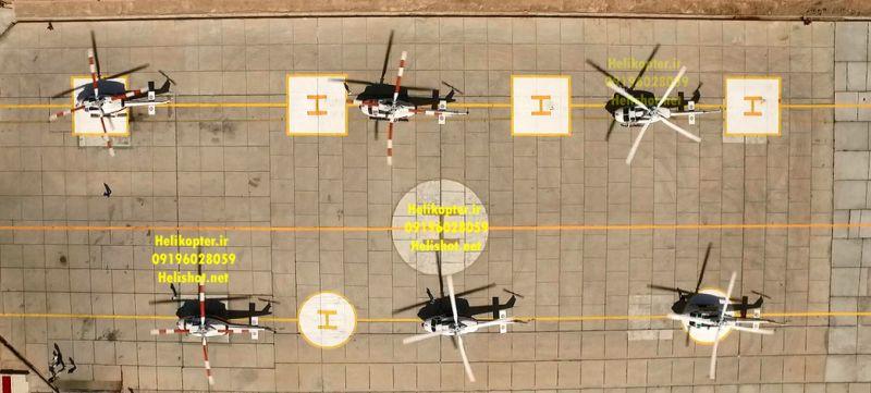 پوشش مانور هلال احمر با حضور معاون ریاست جمهوری helishot.net   09196028059    helikopter.ir