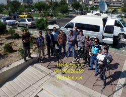 فیلمبرداری هوایی با واحد سیار بصورت زنده helishot.net   09196028059    helikopter.ir