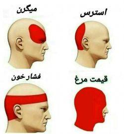 علت سردرد در روزهای اخیر