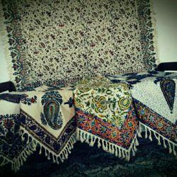 هنر نزد ایرانیان است و بس  صنعت قدمت دار پارچه قلمکار دامغان در طرح ها و رنگهای مختلف