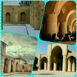 مسجد تاریخانه دومین مسجد و کهن ترین مسجد ایران با قدمت بنای هفت هزارساله