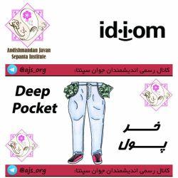 #idiom #اصطلاح #deep_pocket #خر_پول #choose_wisely #اندیشمندانه_انتخاب_کنید @ajs_org