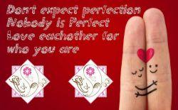 Don't #expect #perfection #nobody is #perfect #love #eachother for #who_you_are #انتظار #کمال نداشته باشید #هیچ_کس #کامل نیست #همدیگر را برای #آنچه_هستید #دوست_بدارید #choose_wisely #اندیشمندانه_انتخاب_کنید
