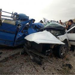 فوتی ۱ نفر .وقوع حادثه جاده فیروزاباد .شیراز .تاریخ ۱۷ دیماه ۱۳۹۷