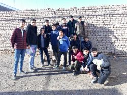 دانش آموزان عزیز کلاس نهمم. قلعه نو باخرز