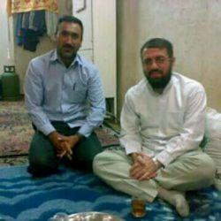 حجه الاسلام مسعود عالی  مهمان ما در روستای شرفویه لارستان فارس