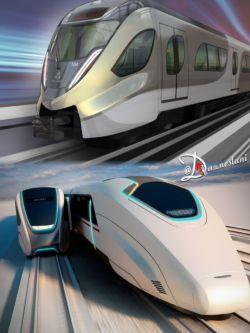 در هنگام حرکت ، قطارهای مغناطیسی هیچ تماسی با ریل وجود ندارد و بجای غلتیدن چرخ ها روی ریل با نیروی مغناطیسی روی هوا شناور است و باعث میشود به جلو رانده شود این قطارها نصف انرژی هواپیما را مصرف میکگند ولی با همان سرعت حرکت میکنند