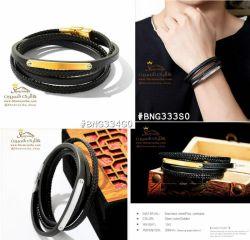 دستبند چرم چندرشته مردانه / زنانهBNG334G0 149000 تومان براى سفارش میتوانید 24 ساعته در تلگرام به شماره 09120575212 پیام داده و یا از سایت www.Shemroniha.com خرید كنید.