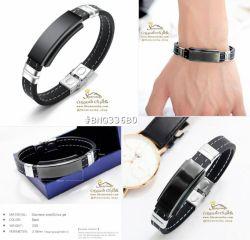 دستبند مردانه پلاک مشکیBNG336B0 88000 تومان براى سفارش میتوانید 24 ساعته در تلگرام به شماره 09120575212 پیام داده و یا از سایت www.Shemroniha.com خرید كنید.