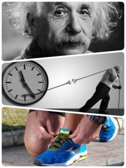 """انیشتین می گوید ؛ انسانها اگر ارزش زمان را می دانستند ، هیچ گاه کفش بندی نمی خریدند !  """"عمر"""" کوتاه، ولی بسیار ارزشمند است، قدرش را بدانیم..."""