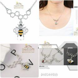 گردنبند زنبور و کندوNEC446S0 115000 تومان براى سفارش میتوانید 24 ساعته در تلگرام به شماره 09120575212 پیام داده و یا از سایت www.Shemroniha.com خرید كنید.