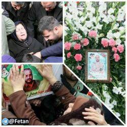 مادر شهید عبدالرضا بروجی از شهدای ترور اتوبوس سپاه دوری جوان رعنایش را تاب نیاورد و در شب وفات حضرت ام البنین بسوی فرزندش پرواز کرد