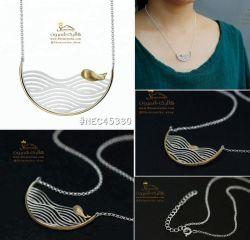 گردنبند لوکس نقره نهنگ و دریاNEC453S0 494000 تومان براى سفارش میتوانید 24 ساعته در تلگرام به شماره 09120575212 پیام داده و یا از سایت www.Shemroniha.com خرید كنید.