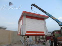 ساخت کانکس فروشگاهی در شهر برازجان