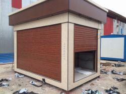 ساخت کانکس فروشگاهی طرح سنگ در شهر بوشهر