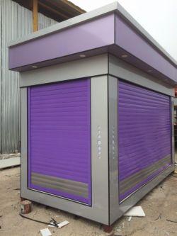 طراحی و ساخت کانکس فروشگاهی کامپوزیت در شهر برازجان