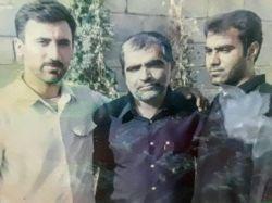 عکس یادگاری با مداح بزرگ اهل بیت حاج مهدی منصوری در سفر به روستای شرفویه فارس