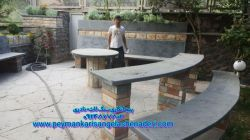 اجراع کرسی چینی و سکوچینی و میز باسنگ لاشه:09193394461 نصب انواع کارهای لاشه سنگی و برای دیوار و میز و پله سکواغ0-ل