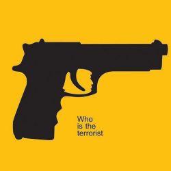 Who is the terrorist? #terrorist #trump #gun