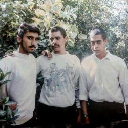 ازراست علی رضا پرنیان ،رحیم توبال و مصطفی محمدی خودم