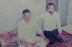 حاج احمد روشن و مرحوم همزه