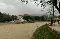 رودخانه خرم رود خرم آباد پل حاجی ....