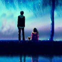 عاشق شدن همیشه هم به ناراحتی منتهی نمیشه ، با یه ادم مناسب میتونه یه بلیت یك طرفه به بهشت باشه