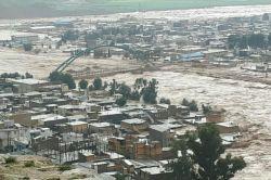 پلدختر در زیر سیلاب دیروز فرو رفت ....