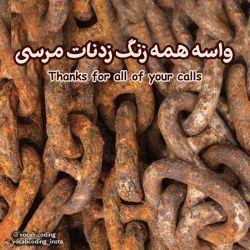 سپاس واسه همه زنگ زدنات